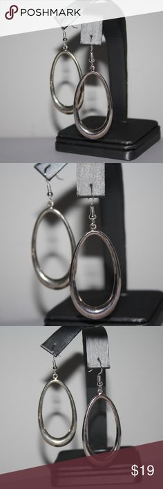 Sterling silver dangle earrings sterling silver .925 dangle earrings. 2 inches long! Statement earrings for sure :)  Buy from me with confidence! I have sold over 500 items with a 5 star rating! If you have any questions, do not hesitate to ask.  Looking at a few things in my shop? Put a bundle together, comment on an item that you are ready to check out and let me send you an even better offer!  Thank you for visiting :) Free gifts with every purchase! Jewelry Earrings