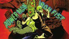 Carl Lucas, Danny Rand, Misty Knight, Heroes For Hire, Power Man, Comic Books, Comics, Art, Art Background