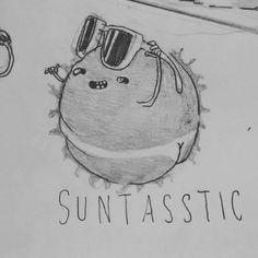 Pegar um solzinho e tal...  #sun #tan #suntastic #summer #sol #bunda #butt #ass #illustration #character #design #graphic #wip #vo_maria #vomaria #funny