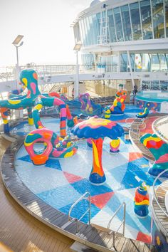 Everything you need to know about taking a family vacation aboard the Royal Caribbean Allure of the Seas Cruise Tips Royal Caribbean, Royal Cruise, Cruise Pictures, Park Pictures, Cruise Travel, Cruise Vacation, Family Vacation Destinations, Vacation Spots, Nickelodeon Resort Punta Cana