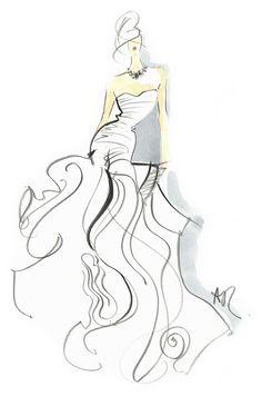 angie rehe lovely fashion illustrations