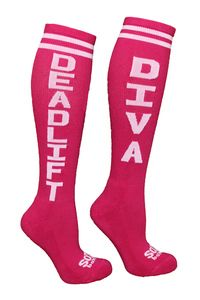 Sox Box Deadlift Diva Socks