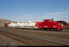 RailPictures.Net Photo: BNSF 999000 BNSF Railway Caboose at Wishram, Washington by BurghMan