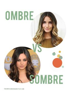Confessions of a Hairstylist by Jenny Strebe: Ombre vs Sombre