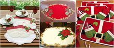 Aprende cómo hacer lindos individuales para esta navidad ~ Haz Manualidades Quilted Table Runners, Christmas Holidays, Gingerbread, Quilts, Holiday Decor, House, Food, Home Decor, Tutu