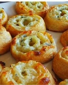 """Easy Three Cheese Pinwheel Appetisers ~ The easiest appetisers to """"wow"""" all of your party guests these three cheese pinwheels are."""
