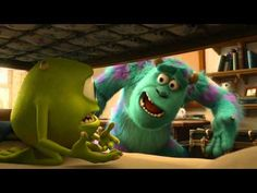'Monstruos University' - Primera mañana - Clip