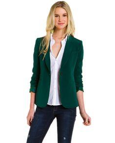 emerald blazer