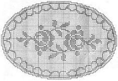 My Hobbies and I: Wire Break Tray Patterns Filet Crochet Charts, Crochet Doily Patterns, Thread Crochet, Crochet Motif, Crochet Doilies, Crochet Yarn, Crochet Stitches, Knitting Patterns, Fillet Crochet