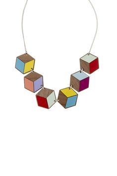 Geometric Link Necklace, £95: http://www.tattydevine.com/geometric-earrings.html