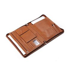 Zip-Around Leather Organizer Case for 15-inch Retina Macbook Pro