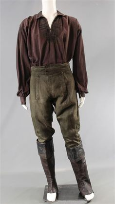 BLACK SAILS CAPTAIN FLINT TOBY STEPHENS SCREEN WORN PIRATE COSTUME SS 3 & 4