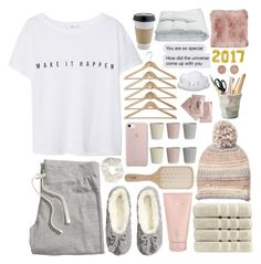 """""""take it easy on my heart // dream tag!!"""" by softheartt ❤ liked on Polyvore featuring A Little Lovely Company, Clinique, Philip Kingsley, Bloomingville, MANGO, Steve Madden, H&M, Lalique, Christy and Topshop"""
