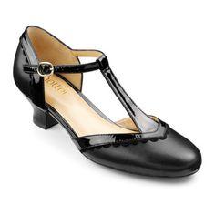 Viviene Heels  - Beautiful breathable style - Black size 5.5 $119.00 AT vintagedancer.com