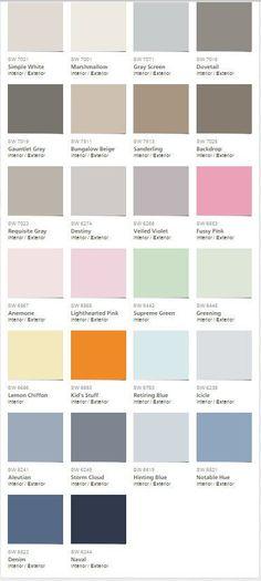 Martha Stewart Paint Martha Stewart And Color Palettes On Pinterest
