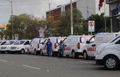 Procuraduría dona 10 ambulancias al INACIF para fortalecer sistema 911