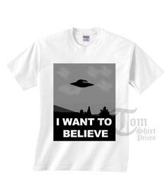 I Want To Believe T-shirts //Price: $13 //     #urbanfashion