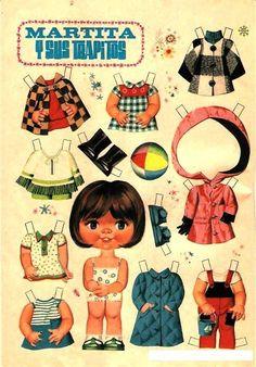 recortables de la revistas lily - recortablesmariquitascromostroquelados - Gabitos Paper Dolls Book, Vintage Paper Dolls, Paper Toys, Sweet Memories, Childhood Memories, Cardboard Crafts, Paper Crafts, Comics Vintage, Paper Dolls Printable