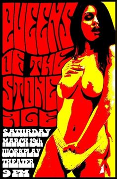 Queens Of The Stone Age - Concert Poster (Birmingham)