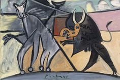 Combattimento di tori di Picasso