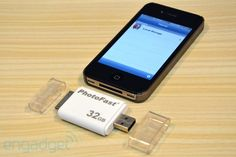 If iCloud or other cloud services don't work for your data, PhotoFast iFlashDrive