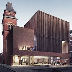 A design team led by stephenson STUDIO has won the RIBA Competition to extend Hallé's St Peter's building in Manchester.  The project will transform the Grade II listed former church building into rehearsal, performance, education and ancillary spaces for the Hallé Orchestra, Choir and other ensembles.  #riba #ribacompetitions #architecture #design #architects #manchester #ancoats #orchestra #concert #choir #church #buildings