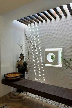 Interior spaces reflecting the soul of vibrant Rajasthan, yet vouching for a contemporary set-up sum up the interiors for this office space Decor, House Design, Foyer Design, Bedroom False Ceiling Design, House Interior, Entrance Decor, Indian Home Interior, Ceiling Design Living Room, House Interior Decor