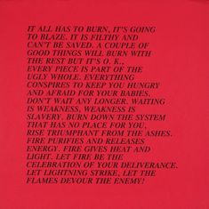 29 offset lithographs 17 × 17 (432 × 432) on paper of various colours, printed at Millner Bros., New York and published by the artist in an unlimited edition One inscribed 'Jenny Holzer' on the back.