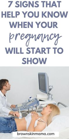 When Do You Start Showing During Pregnancy? - 7 Signs when you are in your first trimester that will give you a hint as to when your will start t - First Trimester Tips, Third Trimester, Pregnancy Health, Pregnancy Care, Pregnancy Style, Pregnancy Fashion, Pregnancy Outfits, Maternity Fashion, Second Pregnancy