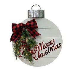 St. Nicholas Square® Light-Up Merry Christmas Ornament Wall Decor   Kohls