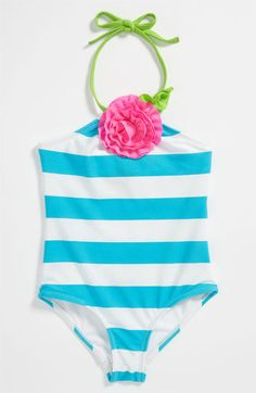 Love U Lots One Piece Swimsuit (Toddler) Baby Swimwear, Baby Swimsuit, One Piece Swimsuit, Toddler Outfits, Kids Outfits, Baby Swimming, Baby Couture, Beach Kids, Little Fashionista