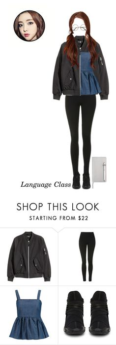 """""""Language class 🌹 Boa"""" by if-i-were-you ❤ liked on Polyvore featuring Topshop, CO, ICE London and munboa"""