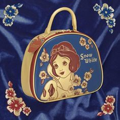 Snow White Cosmetic Travel Bag