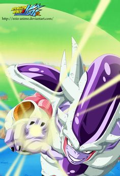 Frieza third form - Coloured by Ezio-anime.deviantart.com