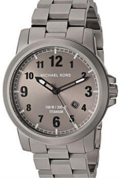 3c9d010c9325 Michael Kors Paxton Mens Titanium MK8534