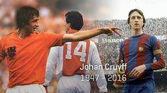 Muere Johan Cruyff