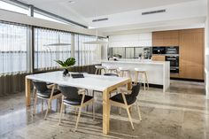 A premium boutique builder, specialising in designing and building luxury homes across Perth with a focus on providing personalised, tailored attention. Bright Kitchens, Greg Davies, Luxury Homes, Kitchen Dining, Designer, Table, Furniture, Home Decor, Luxurious Homes