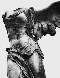 "mikatharsis:  "" Winged Victory of Samothrace  """