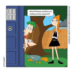 Phineas and Ferb / Doctor Who crossover by MikesStarArt on deviantART