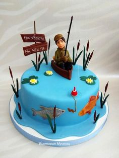 Fisherman - Cake by Victoria