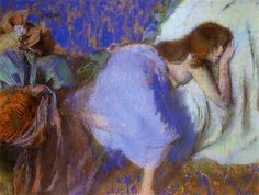Resting, 1893 by Edgar Degas on Curiator, the world's biggest collaborative art collection. Edgar Degas, Renoir, Canvas Art Prints, Painting Prints, Degas Paintings, Art Ancien, Collaborative Art, French Artists, Famous Artists