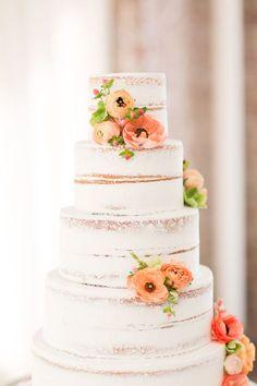 This Downtown Birmingham Wedding Has a Doughnut Wall! Square Wedding Cakes, Wedding Cake Designs, Wedding Cake Inspiration, Wedding Ideas, Wedding Trends, Wedding Blog, Amazing Wedding Cakes, Amazing Cakes, Cake Photography