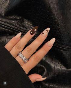 Edgy Nails, Stylish Nails, Swag Nails, Edgy Nail Art, Acylic Nails, Nagellack Design, Nail Jewelry, Jewellery, Fire Nails