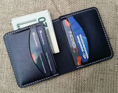The wallet is made from natural high-quality vegetable tanned leather. It is sewed manually with a high-quality thread. handmade Size x Shades of leather may be different from photo. ----------------------------------------- When ordering, pay Minimalist Leather Wallet, Small Leather Wallet, Leather Card Wallet, Wallets For Women Leather, Leather Gifts, Leather Men, Pink Leather, Slim Wallet, Men Wallet