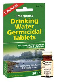 Coghlans Emergency Drinking Water Tablet