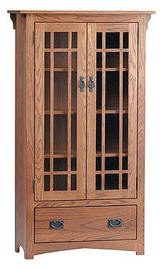 Kloter Farms - Mission Bookcase with Doors
