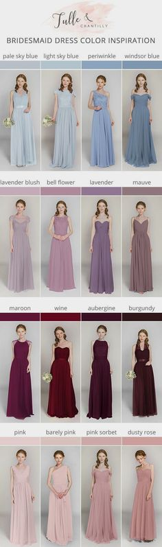 Bridesmaid dresses. Decide on a best suited bridesmaid dress for the wedding ceremony. You must take into account the dresses which would certainly flatter your bridesmaids, simultaneously, match your wedding ceremony style.