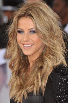 Blonde W. Brown Highlights . #Pretty