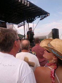 Sista Monica at the Pennsylvania Blues Festival 2013