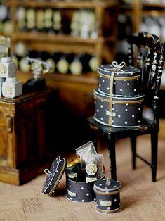 miniature* Tea shop : natural色の生活~handmade家具